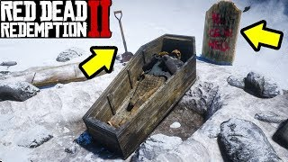 SECRET GRAVE YOU DONT KNOW ABOUT in Red Dead Redemption 2!