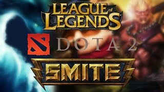 LoL vs DOTA 2 vs SMITE: Comparing 3 MOBAs