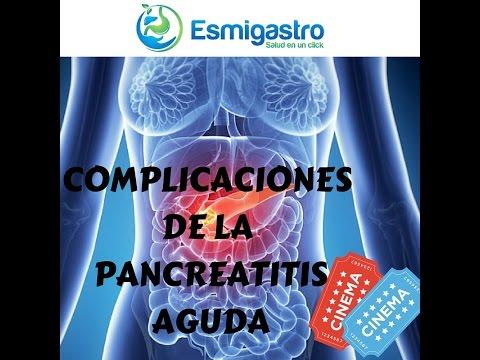 Complicaciones de la Pancreatitis Aguda