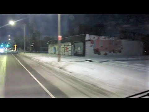 DETROIT 2018 NEW YEAR GUNFIRE / BULLET HITS MY CAR AT :08