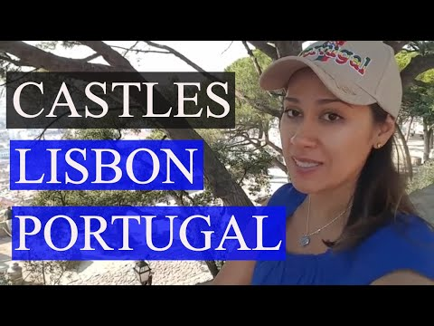 Castles in Lisbon Portugal! Visit Castelo Sao Jorge - Top Things To Do In Lisbon Portugal