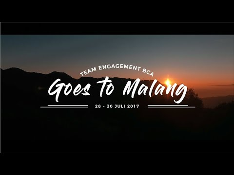 Team Engagement BCA Goes to Malang