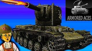 Мульт танки Armored aces #2 онлайн игра Видео для детей много видов танков прокачки как Tanktastic