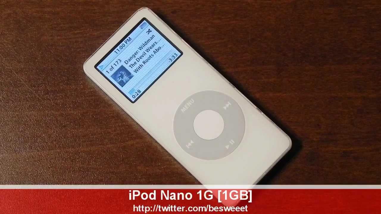 retro review ipod nano 1g 1gb 2005 2006 in white youtube rh youtube com