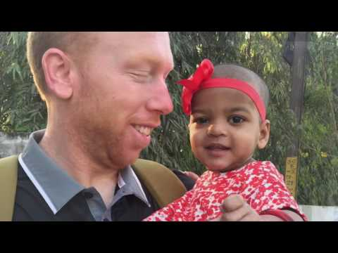 India Adoption: Meeting Jannie Rose