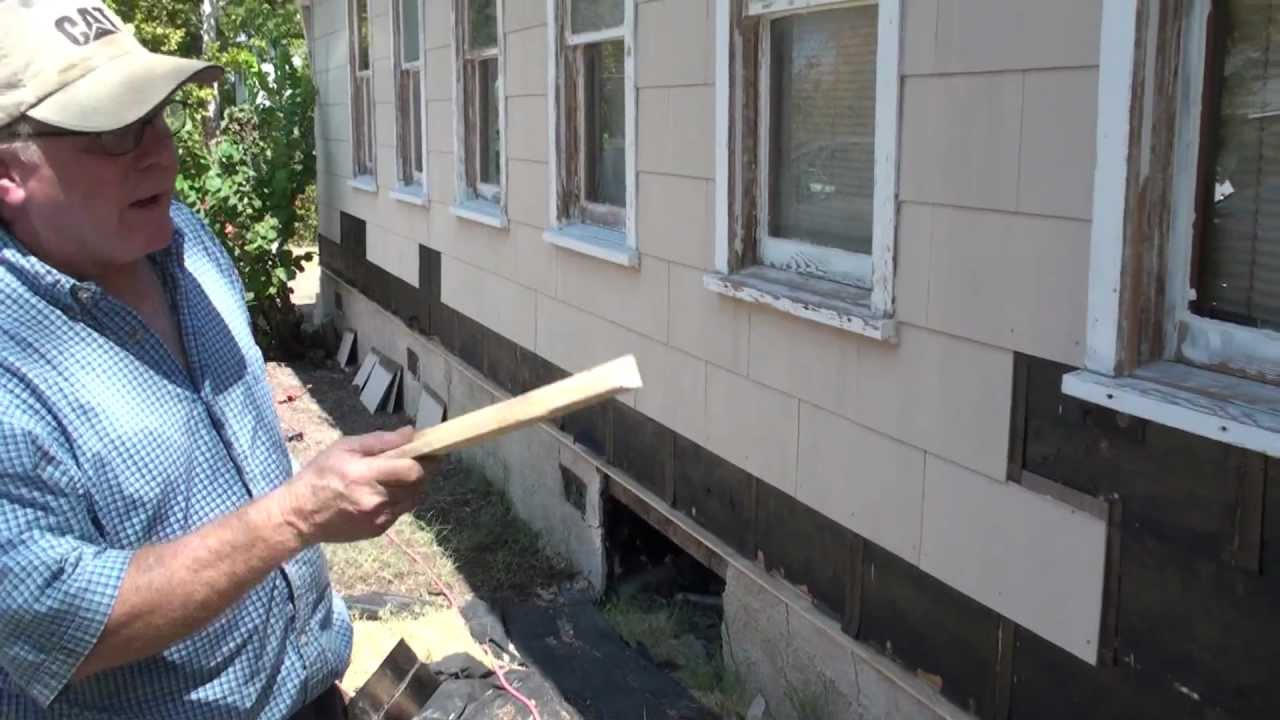 Hardi Plank Siding >> Remove Asbestos Siding Secrets and Water Table With Donovan White Builder - YouTube