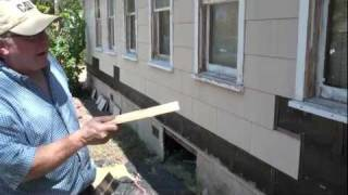 Remove Asbestos Siding Secrets and Water Table With Donovan White Builder
