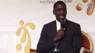 Football is more Foundation Role Model Award Ceremony Demba Ba
