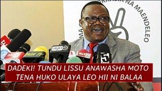 Dadeki! Tundu Lissu Anawasha Moto huko Ulaya Leo hii, kisa Serikali ya Magufuli na Kushambuliwa