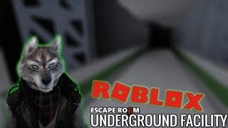 Escape Room Roblox - Underground Facility