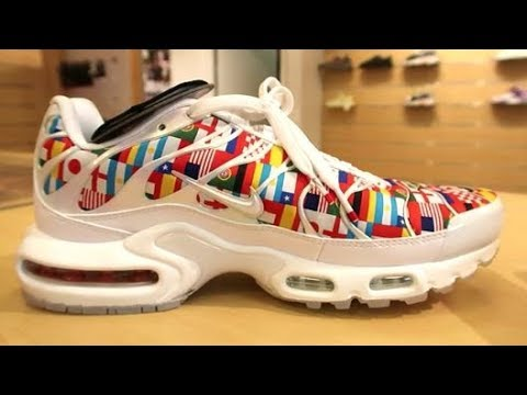Nike Air Max Plus International One World Flag Review & On Foot