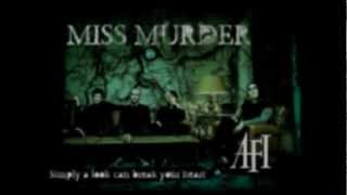 AFI - Miss Murder (Lyrics)