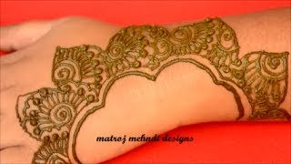 Latest Easy Mehndi Designs For Hands-Simple New Henna Designs 2019-Arabic Mehndi Designs