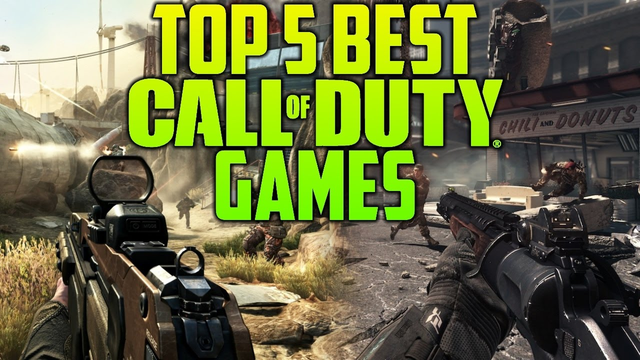 Top 5 Best Call Of Duty Games In COD History - YouTube