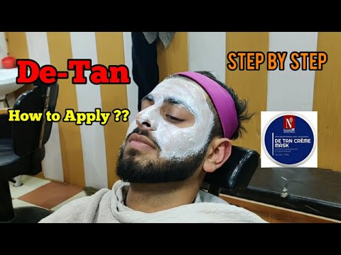 How to do De-Tan | Step by Step Tutorial | Beard N Hairstyle