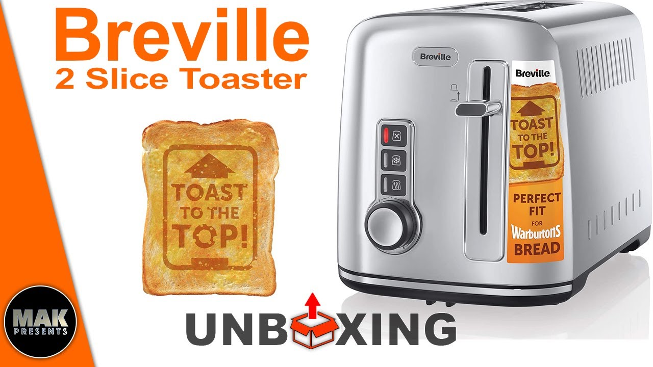 breville 2 slice toaster the perfect fit for warburtons silver