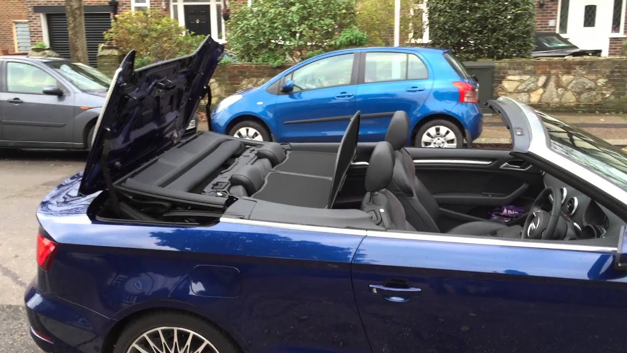 Audi A3 Cabriolet 8v Remote Roof Control Youtube