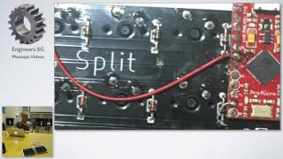 Let's Split plank style keyboard - Mechanical Keyboard SG