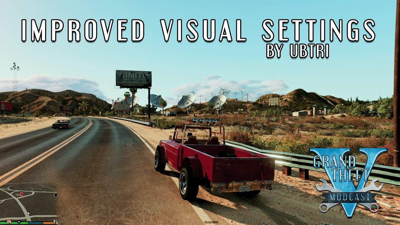 [Environment] Improved Visual Settings