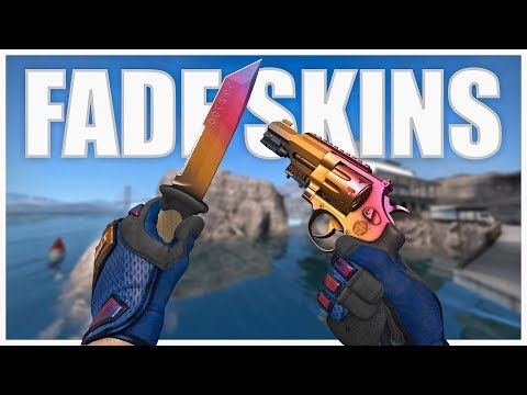 All Fade Skins And Knives In CS:GO | 2019