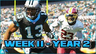Madden 15 Panthers Connected Franchise - Week 11 vs Redskins (Season 2)