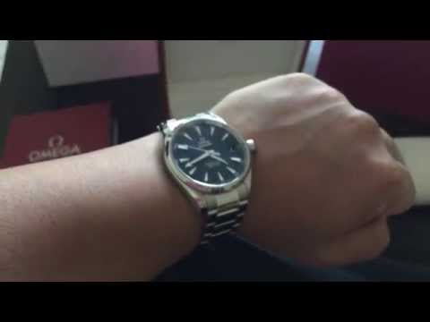 Omega Seamaster Aquaterra Blue Dial (skyfall) unboxing