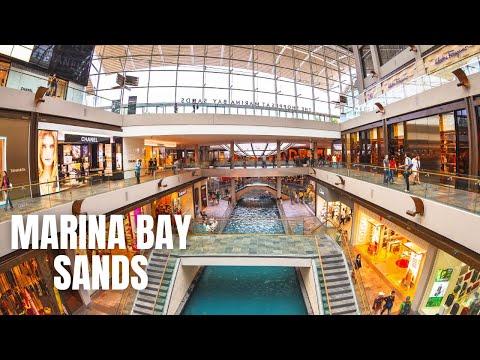 The Shoppes At Marina Bay Sands Singapore Shopping Tour (2019)