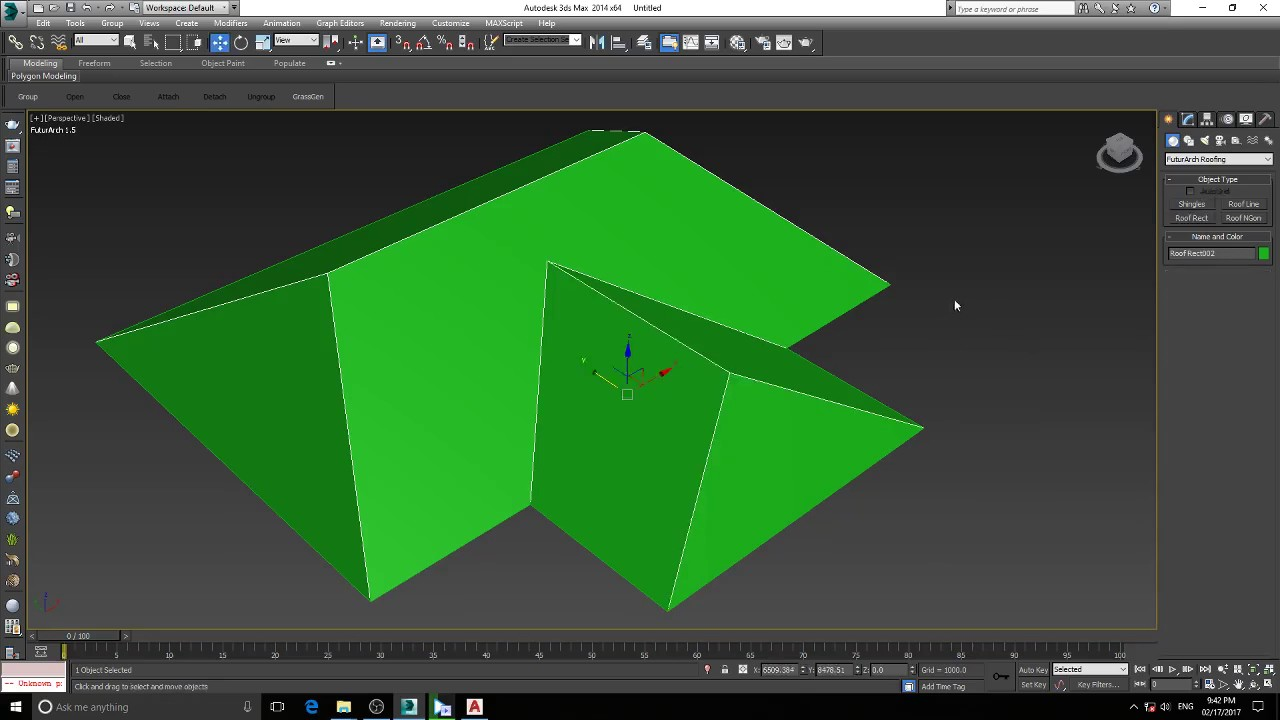 Make Roof In 3ds Max Youtube