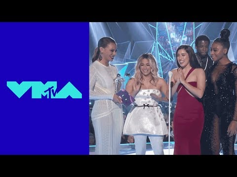 Fifth Harmony Wins Best Pop Video Award | 2017 VMAs | MTV