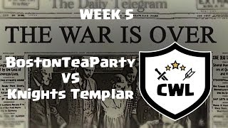 Clash of Clans - CWL Week 5 BTP VS Knights Templar