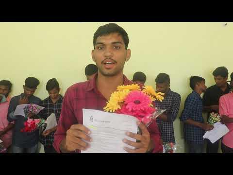 Vemula Sandeep || Indian Navy SSR Job Selected Student || Tejas Defence Academy