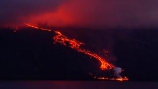 بالفيديو.. بركان 'وولف' الإكوادورى يثور بعد 33 سنة من الخمول