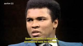 USA  MOHAMED ALI  INTERVIEW 1971 OCTOBRE