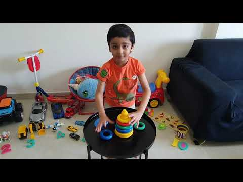 Hani counting numbers from 1 to 10 with Colorful Fun Toys from YouTube · Duration:  9 minutes 33 seconds
