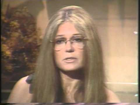 GLORIA STEINEM INTERVIEW AT QUBE (V25)