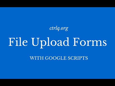 How to Create Google Forms with File Uploads