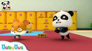 Baby Panda's Sport Competition | Baby Panda's Magic Tie | Magical Chinese Characters | BabyBus