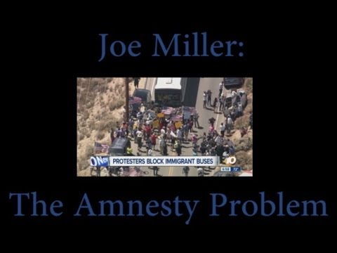 Joe Miller is the only AK GOP US Senate candidate 100% against amnesty