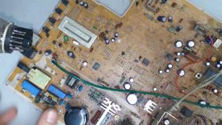 ремонт телевизора samsung CK-5083ZR (шасси p69sa1) не включается