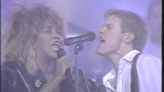 Tina Turner and Bryan Adams - Juno Awards - 1985