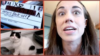 SHOOTING HATERS BACK OFF! (also my cat is a dick)
