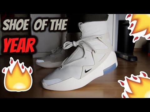 *SHOE OF THE YEAR?!?* NIKE AIR FEAR OF GOD 1 REVIEW/ON-FEET