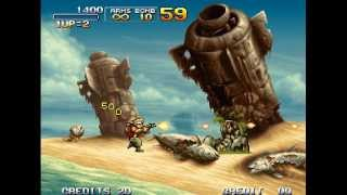 HQ2X Shader Test for Metal Slug 3 on Steam