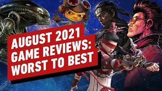 Every IGN Game Review For August 2021 | Reviews in Review (Video Game Video Review)