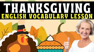 Thanksgiving Learn English Vocabulary