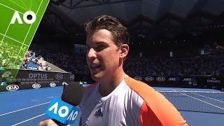 Dominic Thiem on court interview (3R) | Australian Open 2017 | Australian Open TV