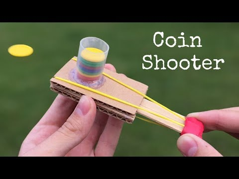 Download Youtube: How to Make a Coin Gun Using Cardboard and Popsicle Sticks