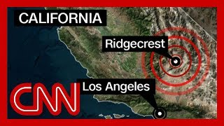 6.4 magnitude California earthquake shakes Los Angeles