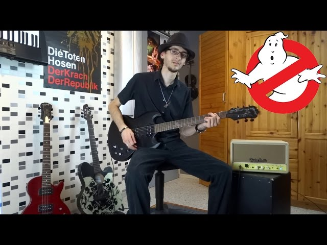 Ghostbusters Rock Cover