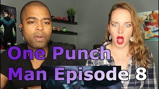 """One Punch Man Episode 8 """"The Deep Sea King"""" (Reaction 🔥)"""